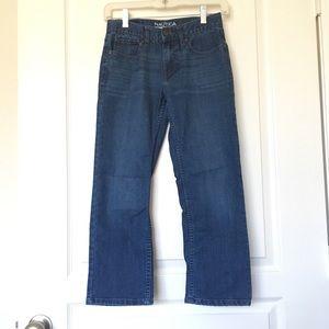 Nautica Boys Jeans Size 10 Straight Fit Stretch